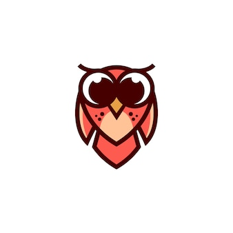 Baby owl vector design