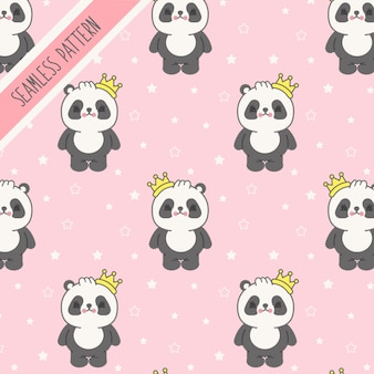 Baby panda bear background premium