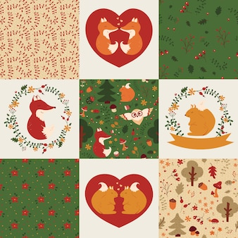 Baby patterns and illustrations