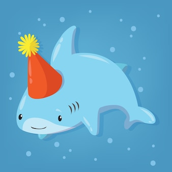 Baby shark cartoon design