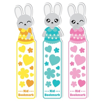 Baby shower bookmarks collection