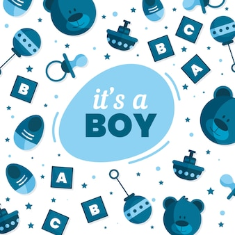 Baby shower for boy