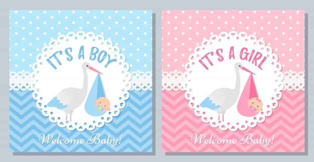 Baby shower card design. illustration. birthday party background.