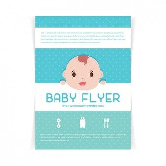 Disegno baby shower carta