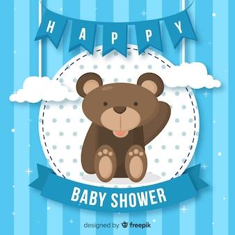 Baby shower design for boy