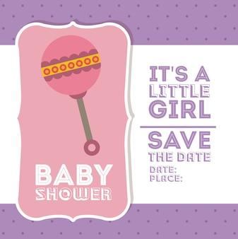 Baby shower digital design