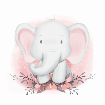 Baby shower elephant gender neutral