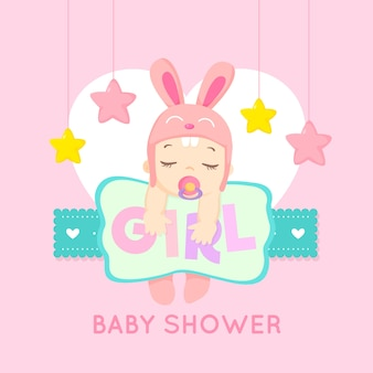 Baby shower event for girl theme