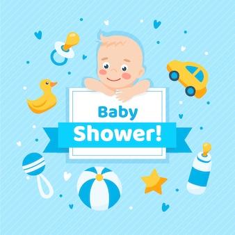 男の子用ベビーシャワー
