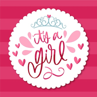 Baby shower girl wallpaper