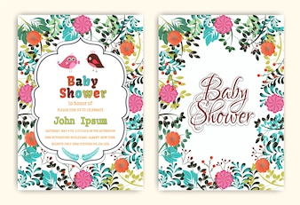Christening invitation vectors photos and psd files free download baby shower party invitation cards stopboris Image collections