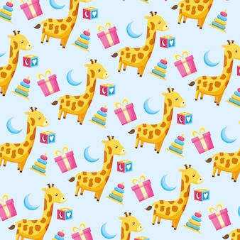 Baby shower pattern
