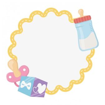 Baby shower symbol