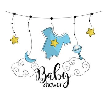 Детский душ, чтобы приветствовать ребенка в семье