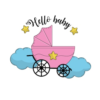 Baby shower to welcome a child in the family