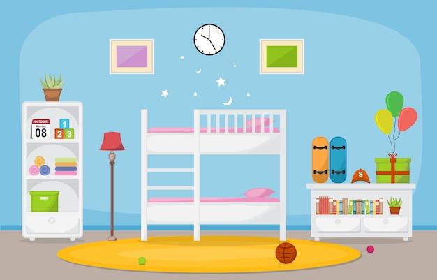 Baby toddler детская спальня интерьер комнаты мебель