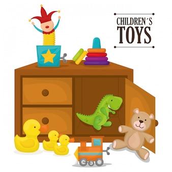 Детские игрушки дизайн.
