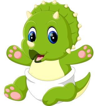 赤ちゃんトリケラトプス漫画