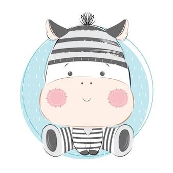 Ребенок зебра в тюрьме