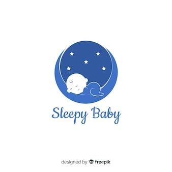 Шаблон логотипа baby