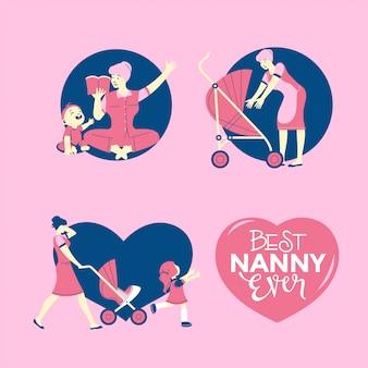 Babysitter agency or nanny service