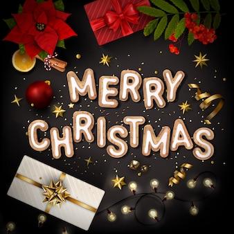 Рождественский креативный bacgkround