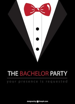 Bachelor party vector