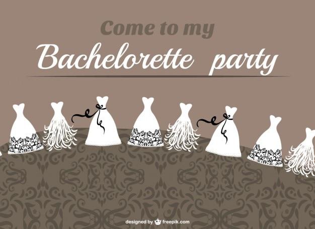 Bachelorette party vector