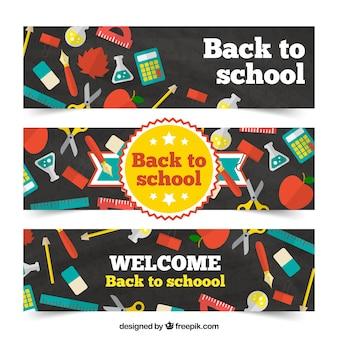 Torna a scuola banner pacchetto