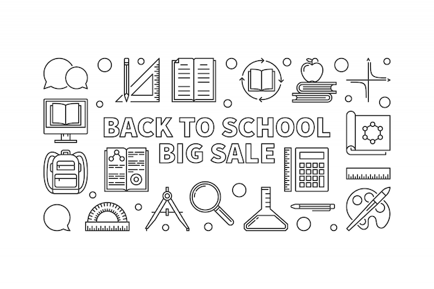 Back to school big sale