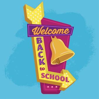 Back to school, billboard