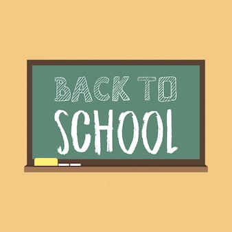 Back to school brochure design vector