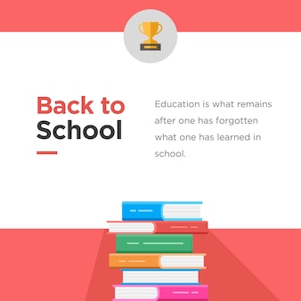 Back to school course card