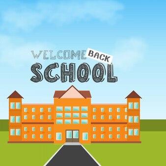 Back to school design element vector