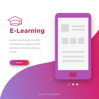 Back to school e-learning
