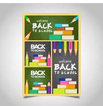 Back to school flyer design