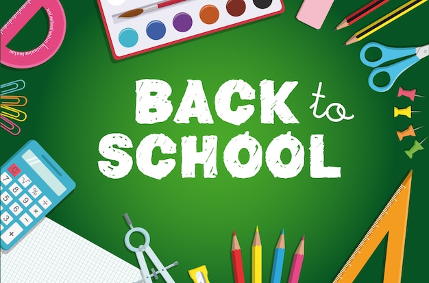 Back to school frame