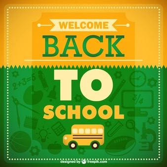 Back to school graphic
