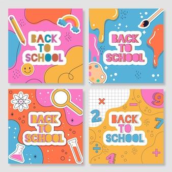Back to school instagram posts