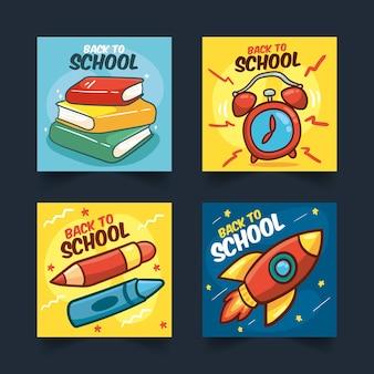 Back to school instagram stories template