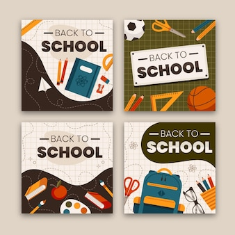 Back to school instagram stories theme