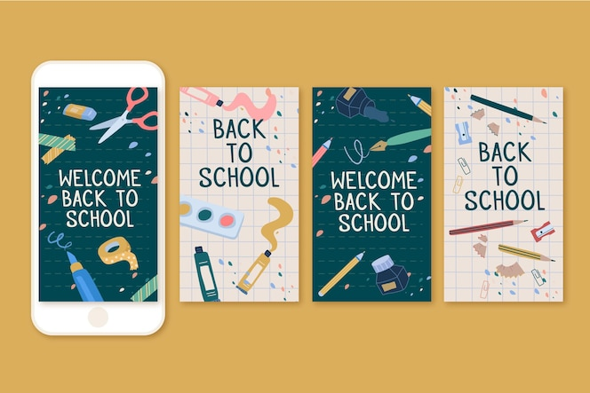 Back to school instagram stories