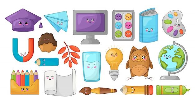 Back to school kawaii accesories