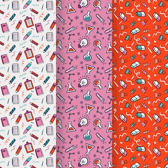 Back to school pattern collection draw