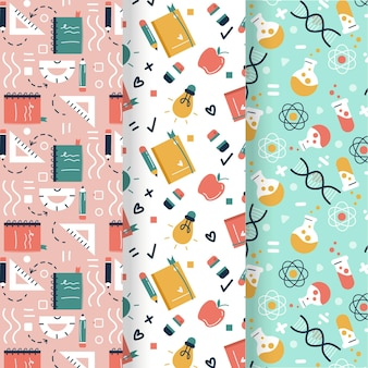 Back to school pattern collection