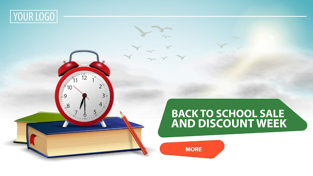 Back to school sale and discount week
