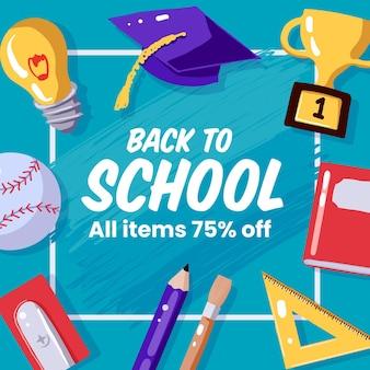 Sorteggio di vendita a scuola