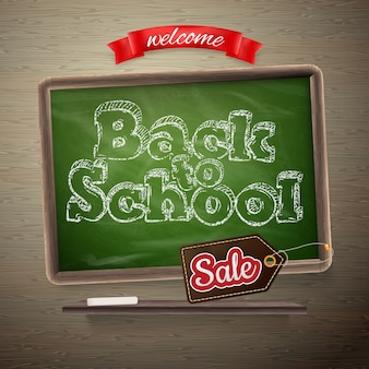 Back to school sale template.