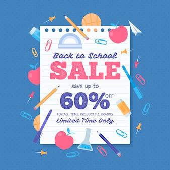 Ritorno a scuola in vendita