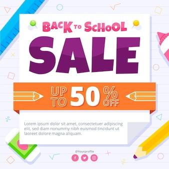Torna al concetto di vendita a scuola